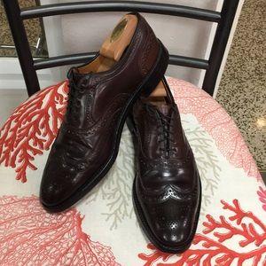 Allen Edmonds Wing Tip Shoe